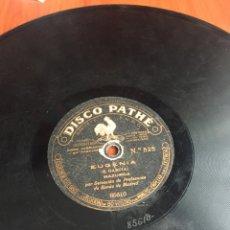 Discos de pizarra: EUGENIA MAZURCA. Lote 194060976