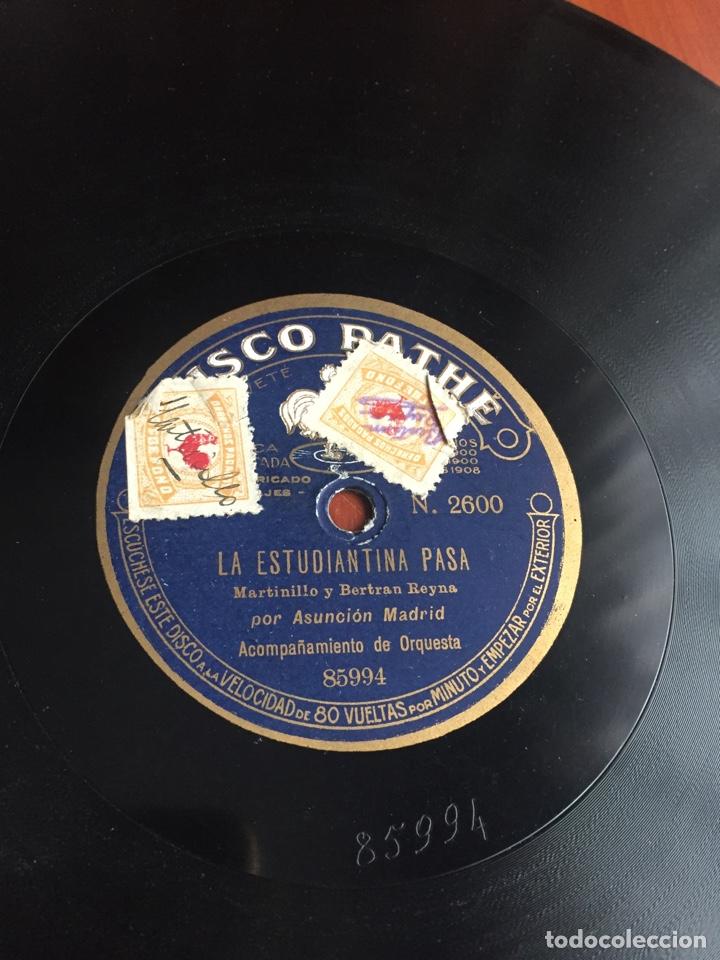 LA ESTUDIANTINA PASA POR ASUNCIÓN MADRID (Música - Discos - Pizarra - Flamenco, Canción española y Cuplé)