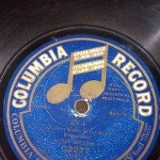 Discos de pizarra: COLUMBIA RECORD FRANZ LEHAR EVA. Lote 194107038