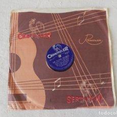 Discos de pizarra: WILSON MIRANDA - UM OLHAR APENAS/EU CHOREI TAMBEM (CHANTECLER 78-0739) BRASIL. Lote 194135796