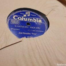 Discos de pizarra: 78 RPM EL PRESI/ REGIONAL ASTURIANO. Lote 194195231