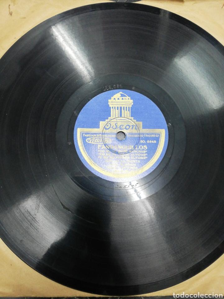 Discos de pizarra: Disco de Pizarra .2 Fandanguillos. Niño de la Huerta. Odeón. Disco Pizarra por las 2 caras. - Foto 2 - 194201708