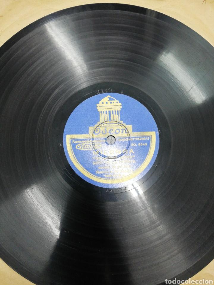 DISCO DE PIZARRA .2 FANDANGUILLOS. NIÑO DE LA HUERTA. ODEÓN. DISCO PIZARRA POR LAS 2 CARAS. (Música - Discos - Pizarra - Flamenco, Canción española y Cuplé)