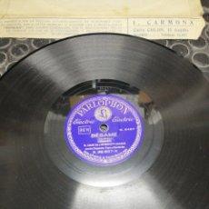 Discos de pizarra: AVELLANEDA Y BÉSAME. PARLOPHON. DISCO PIZARRA POR LAS 2 CARAS.. Lote 194202566
