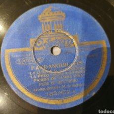 Discos de pizarra: 78 RPM PEPE EL MOLINERO. Lote 194226298