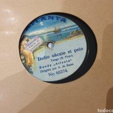 Discos de pizarra: 78 RPM TANGO/ R.FIRPO. Lote 194226738