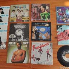 Discos de pizarra: LOTE DE 13 DISCOS DE MÚSICA AÑOS 80. Lote 194231790
