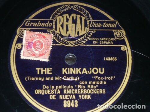 Discos de pizarra: DISCO 78 RPM - REGAL - ORQUESTA KNICKERBOCKERS - NEW YORK - RIO RITA - FILM - FOXTROT - PIZARRA - Foto 2 - 194232410