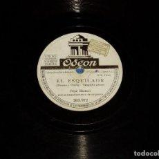 Discos de pizarra: DISCOS DE PIZARRA FLAMENCO DE HACE 100 AÑOS. Lote 194351843