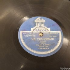 Discos de pizarra: 78 RPM TANGO. Lote 194567400