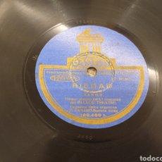 Discos de pizarra: 78 RPM TANGOS FRANCISCO CANARO. Lote 194568268