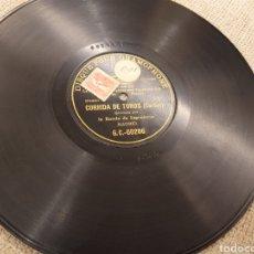 Discos de pizarra: 78 RPM GRAMOPHONE/ CORRIDA DE TOROS.. Lote 194569266