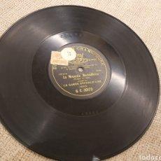 Discos de pizarra: LA NOUVELLE MARSEILLAISE. Lote 194570013