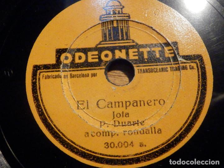 Discos de pizarra: Disco Pizarra - Single - 30.004 Odeonette - Como los pájaros cantan Jota P. Duarte . Acomp Rondalla - Foto 2 - 194642171
