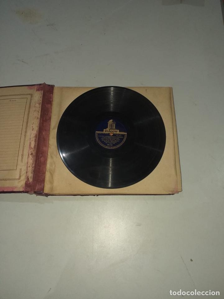 Discos de pizarra: Álbum de 12 discos de pizarra antiguos ver las fotos - Foto 3 - 194643898