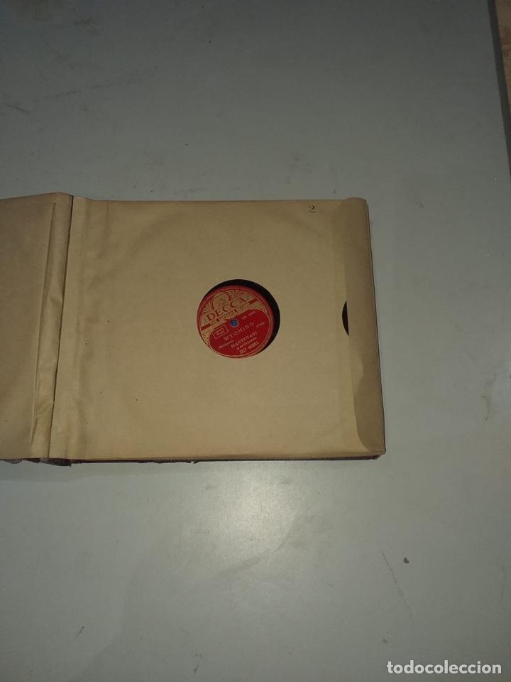 Discos de pizarra: Álbum de 12 discos de pizarra antiguos ver las fotos - Foto 5 - 194643898