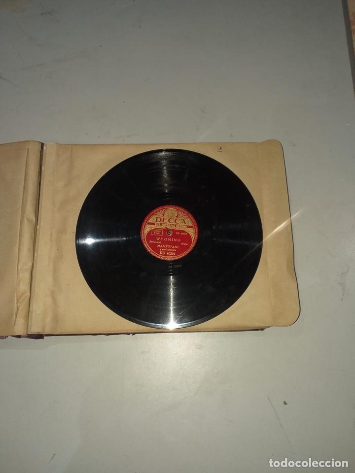 Discos de pizarra: Álbum de 12 discos de pizarra antiguos ver las fotos - Foto 6 - 194643898
