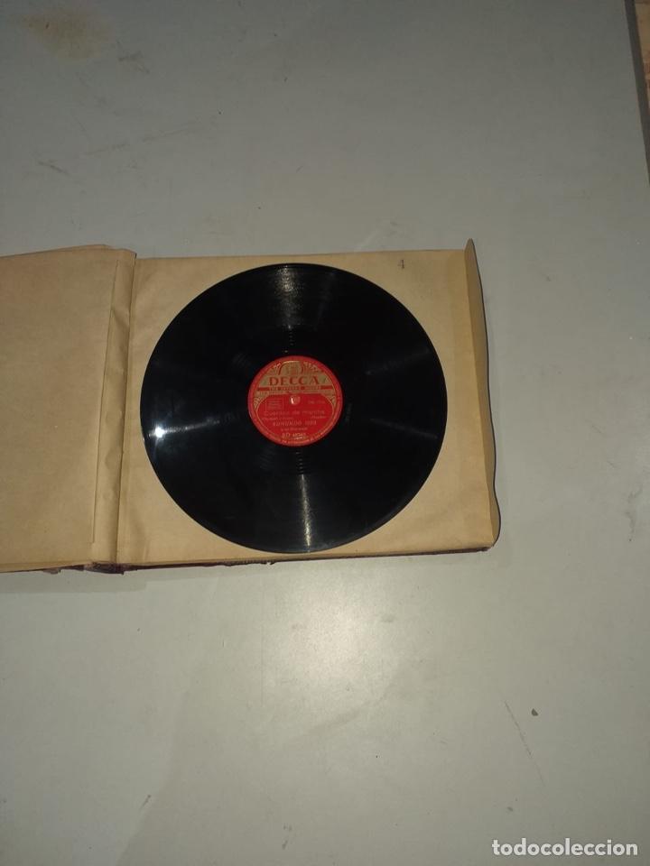 Discos de pizarra: Álbum de 12 discos de pizarra antiguos ver las fotos - Foto 10 - 194643898