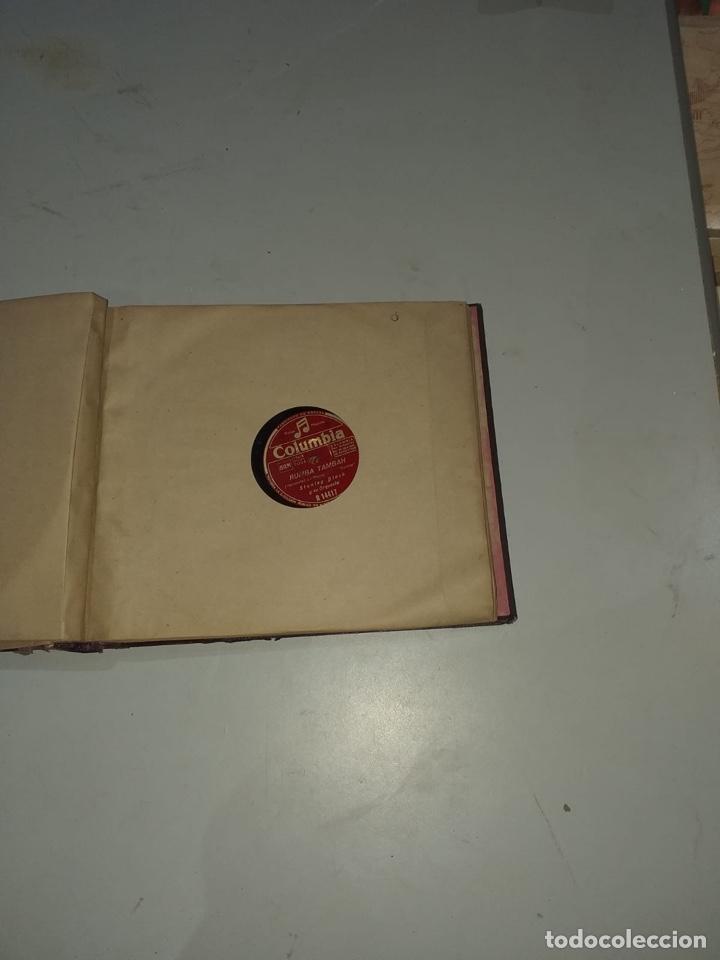 Discos de pizarra: Álbum de 12 discos de pizarra antiguos ver las fotos - Foto 13 - 194643898
