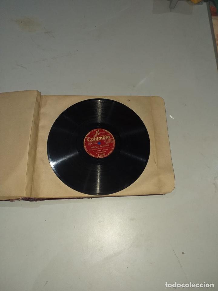 Discos de pizarra: Álbum de 12 discos de pizarra antiguos ver las fotos - Foto 14 - 194643898