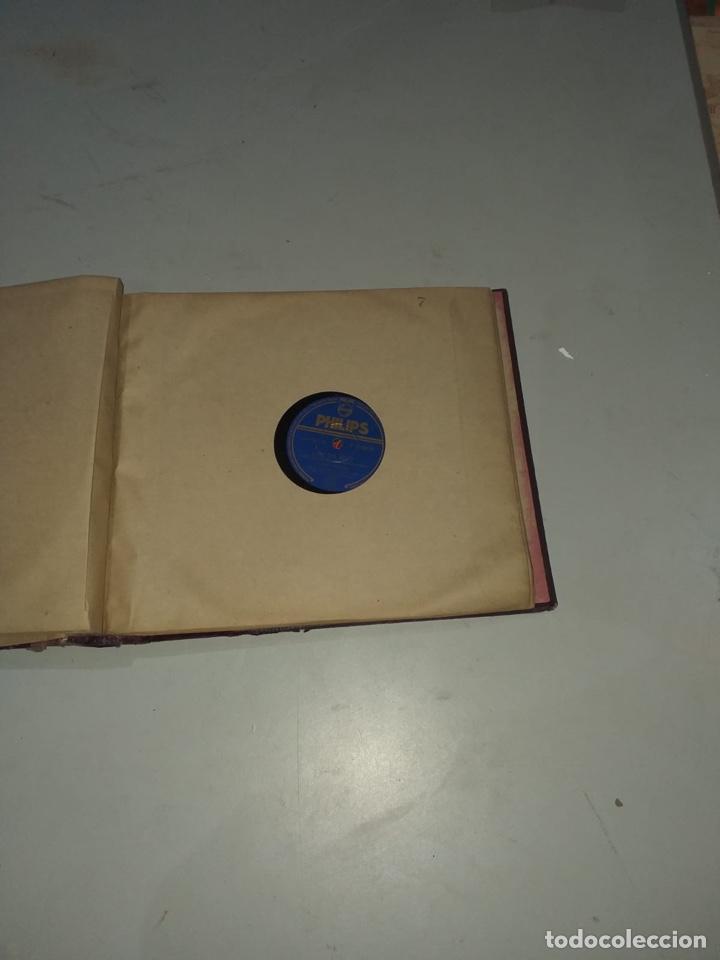 Discos de pizarra: Álbum de 12 discos de pizarra antiguos ver las fotos - Foto 15 - 194643898