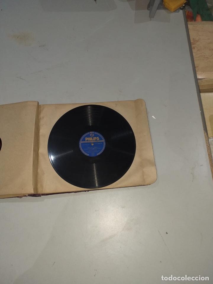 Discos de pizarra: Álbum de 12 discos de pizarra antiguos ver las fotos - Foto 16 - 194643898