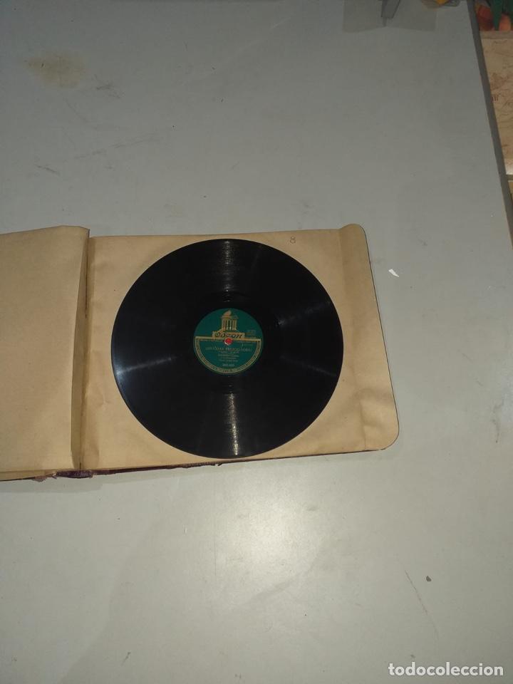 Discos de pizarra: Álbum de 12 discos de pizarra antiguos ver las fotos - Foto 17 - 194643898