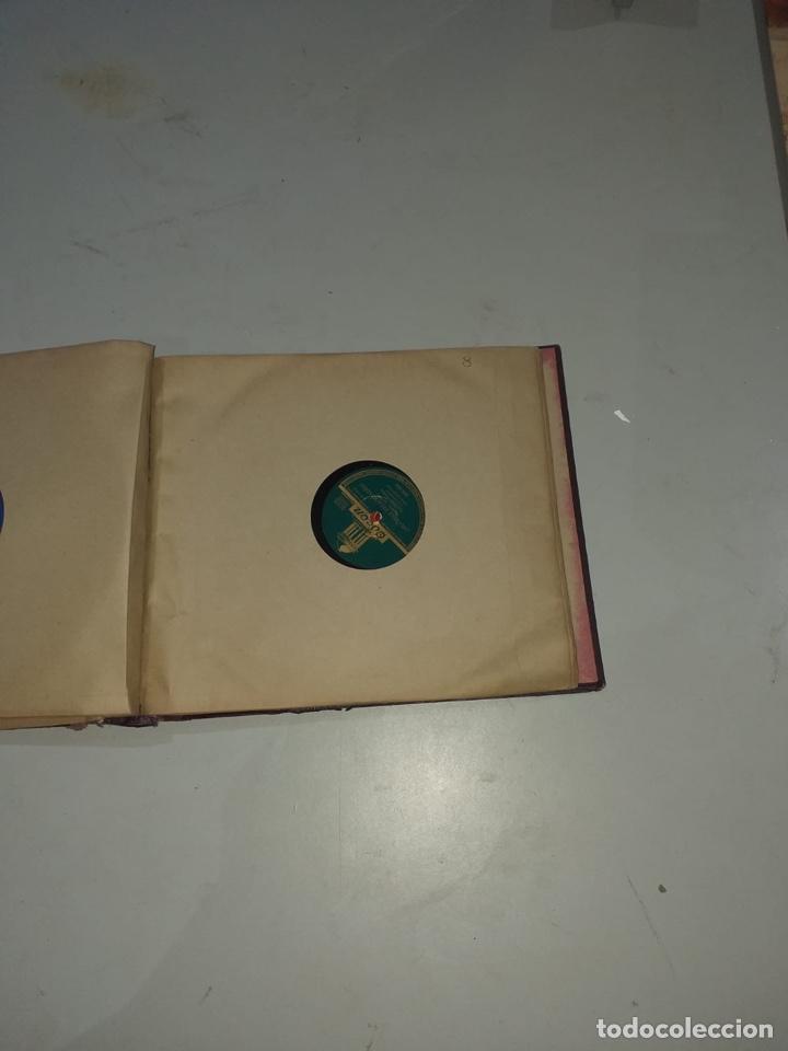 Discos de pizarra: Álbum de 12 discos de pizarra antiguos ver las fotos - Foto 18 - 194643898