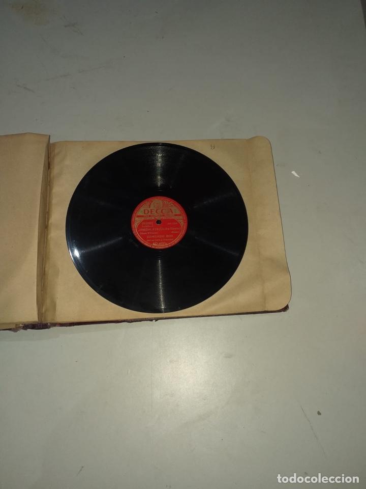 Discos de pizarra: Álbum de 12 discos de pizarra antiguos ver las fotos - Foto 20 - 194643898