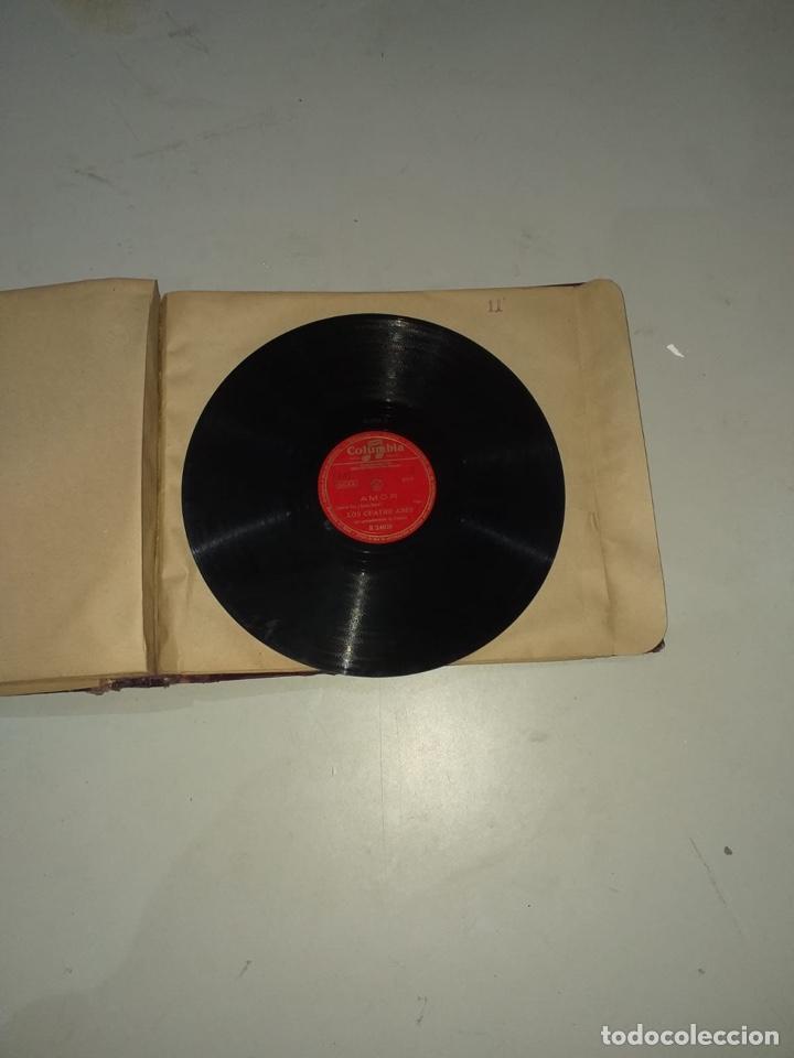 Discos de pizarra: Álbum de 12 discos de pizarra antiguos ver las fotos - Foto 24 - 194643898