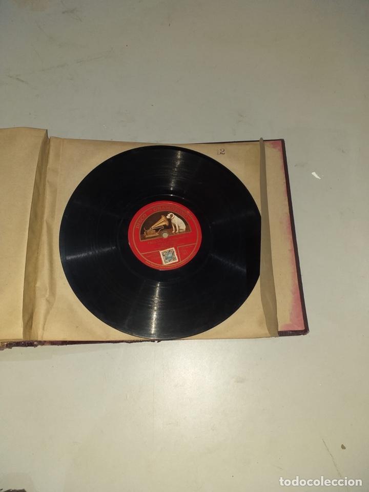 Discos de pizarra: Álbum de 12 discos de pizarra antiguos ver las fotos - Foto 26 - 194643898