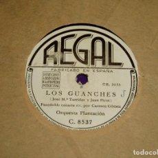 Discos de pizarra: ISLAS CANARIAS POR LA ORQUESTA PLANTACIÓN. Lote 194740772