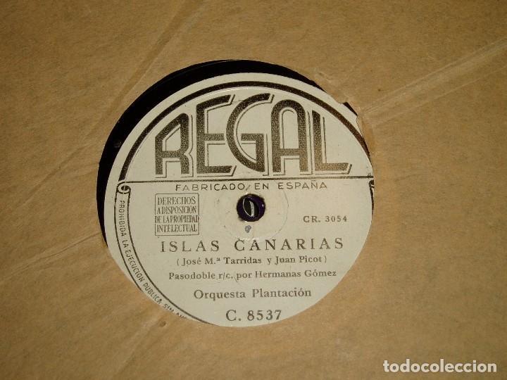 Discos de pizarra: Islas Canarias por la Orquesta Plantación - Foto 2 - 194740772