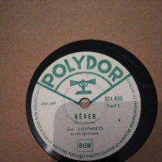 Discos de pizarra: ANTIGÜO ALBUM FRANCES 12 DISCOS DE PIZARRA DE 78RPM. Lote 194974362