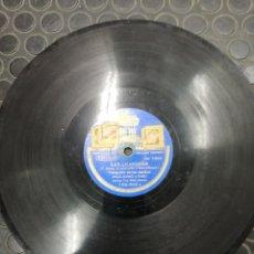 Discos de pizarra: DISCO PIZARRA. CELIA GAMEZ Y CORO. LAS LEANDRAS.PASACALLE DE LOS NARDOS.. Lote 195013988