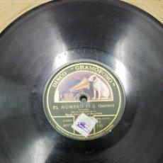 Discos de pizarra: DISCO DE PIZARRA J GUERRERO Y REQUENA. PASOFOBLE Y SCOTTISH.. Lote 195015622