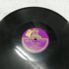 Discos de pizarra: DISCO DE PIZARRA. SELLO ODEÓN. 2 CARAS. SOFÍA BOZÁN, CON TRIO DELFINO.. Lote 195097720