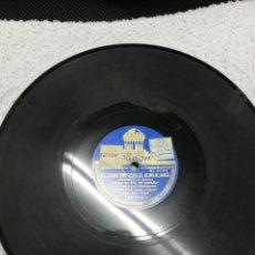 Discos de pizarra: DISCO DE PIZARRA. MONTORIO Y J. L. SALADO. M. TORRES. EL NEGRO QUE TENÍA EL ALMA BLANCA. ODEÓN.. Lote 195098230