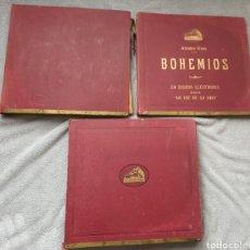 Discos de pizarra: ESPECTACULAR LOTE DE 30 DISCOS DE PIZARRA 78 RPM VARIADOS. Lote 195200198