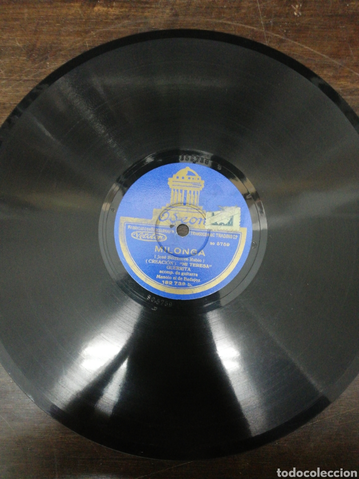 Discos de pizarra: Lote 11 discos de Pizarra. Sellos Odeón, Paelophon, etc - Foto 2 - 195316883