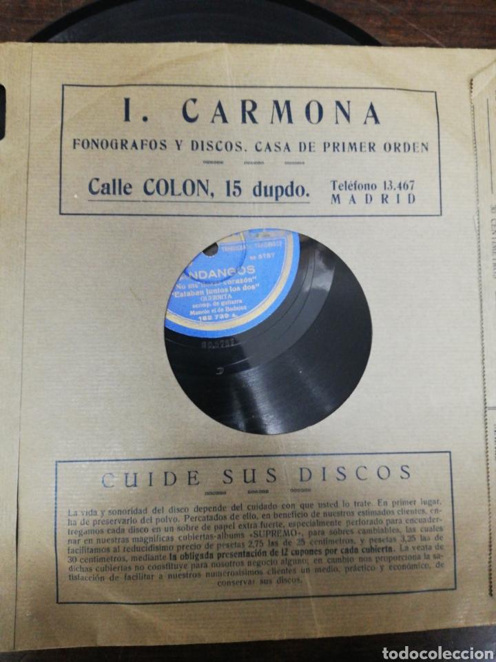 Discos de pizarra: Lote 11 discos de Pizarra. Sellos Odeón, Paelophon, etc - Foto 4 - 195316883