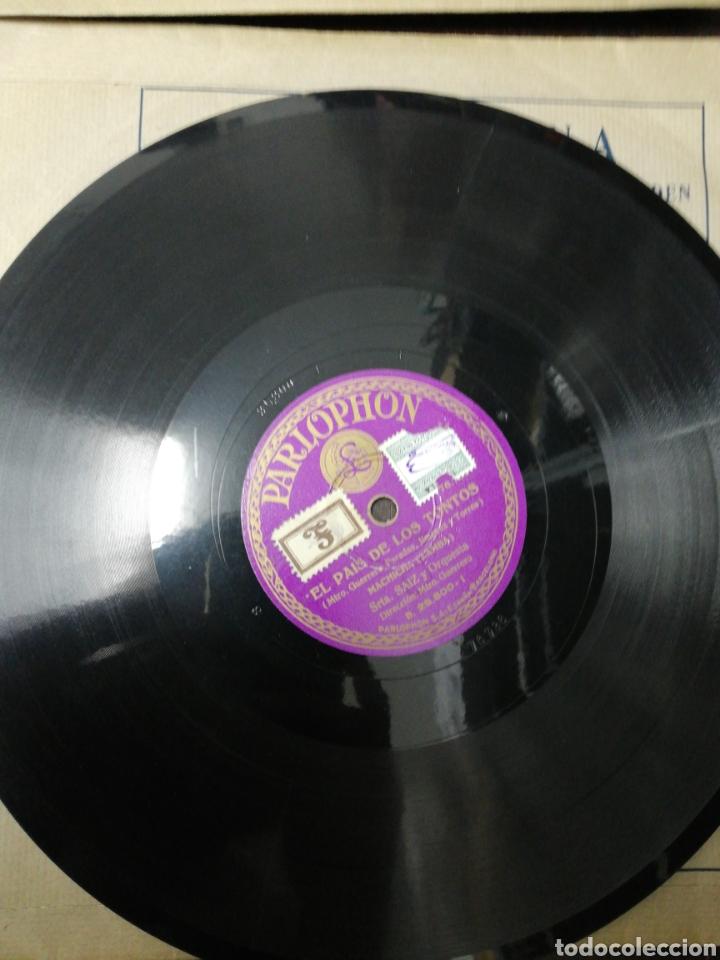 Discos de pizarra: Lote 11 discos de Pizarra. Sellos Odeón, Paelophon, etc - Foto 5 - 195316883