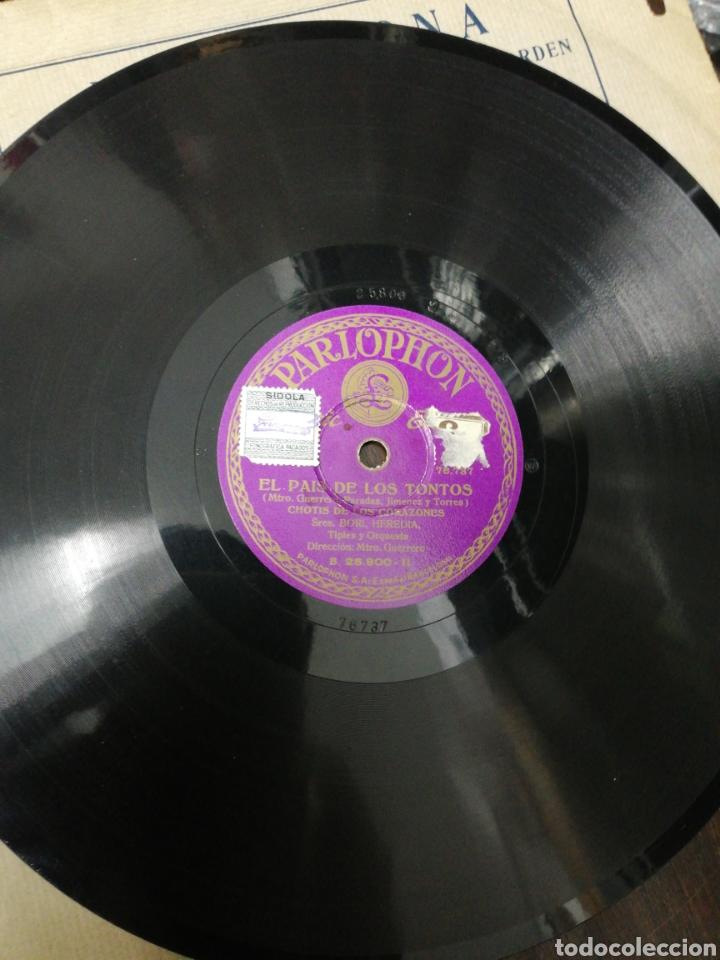 Discos de pizarra: Lote 11 discos de Pizarra. Sellos Odeón, Paelophon, etc - Foto 6 - 195316883