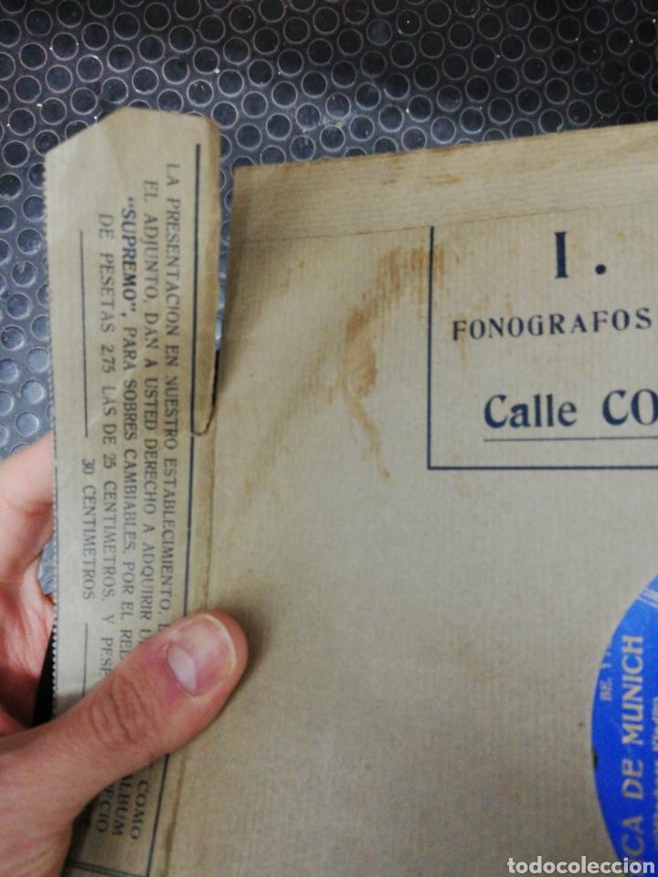 Discos de pizarra: Lote 11 discos de Pizarra. Sellos Odeón, Paelophon, etc - Foto 7 - 195316883
