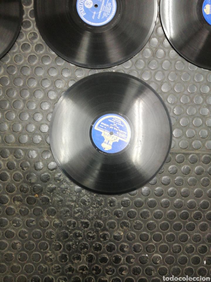 Discos de pizarra: Lote 11 discos de Pizarra. Sellos Odeón, Paelophon, etc - Foto 13 - 195316883