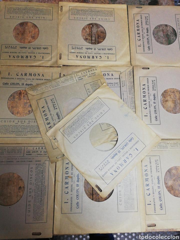 Discos de pizarra: Lote 11 discos de Pizarra. Sellos Odeón, Paelophon, etc - Foto 14 - 195316883