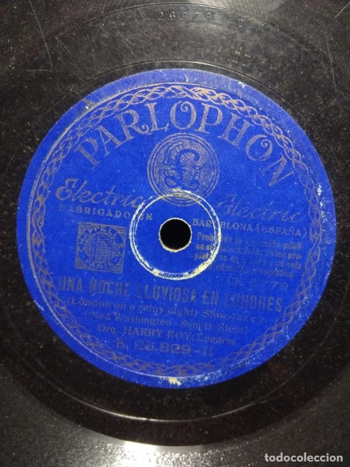 Discos de pizarra: DISCO DE PIZARRA : ORQUESTA HARRY ROY, LONDRES : SARAWAKI - Foto 2 - 195323005