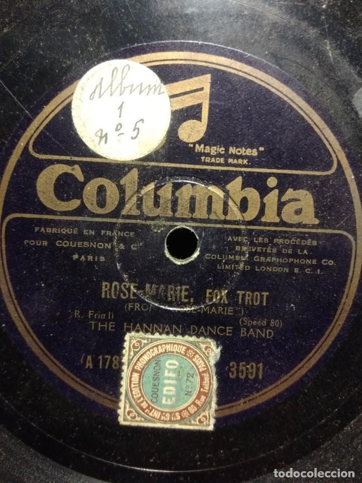 Discos de pizarra: DISCO DE PIZARRA : THE HANNAN DANCE BALL : INDIAN LOVE CALL - Foto 2 - 195324192