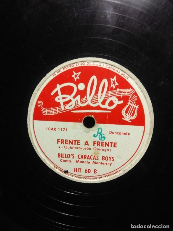 Discos de pizarra: DISCO DE PIZARRA : BILLO´S CARACAS BOYS : RUISEÑOR - Foto 2 - 195325572