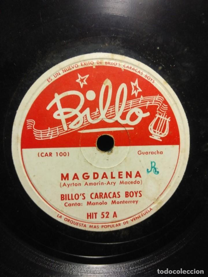 Discos de pizarra: DISCO DE PIZARRA : BILLO´S CARACAS BOYS : MATINATTA - Foto 2 - 195325740